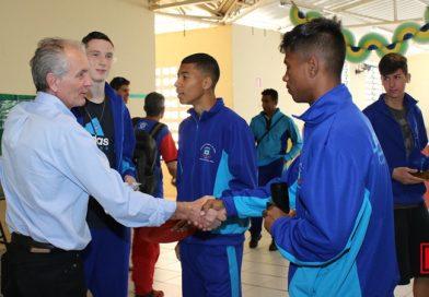 Prefeito visita atletas limeirenses que participam dos Jogos